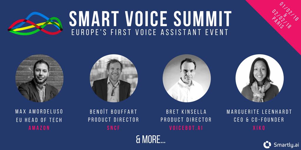 Smart Voice Summit Voice Event   Evénement Technologie Vocale