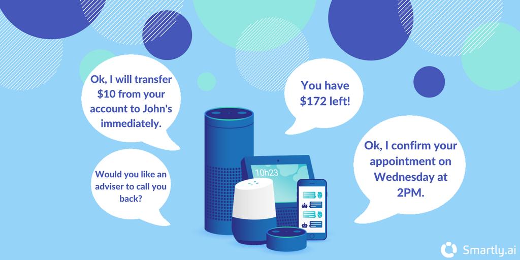 conversational banking application
